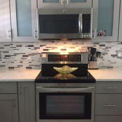Home Depot Glass Tile Kitchen Backsplash Replace Cabinets 17 Best Images About Quartz- Back Splash-kitchen On ...