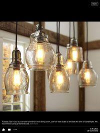 Pottery Barn kitchen pendants | Kitchen Wants | Pinterest ...