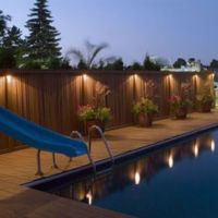 Best 25+ Fence lighting ideas on Pinterest | Garden post ...