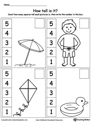29 best images about Measuring in Kindergarten on