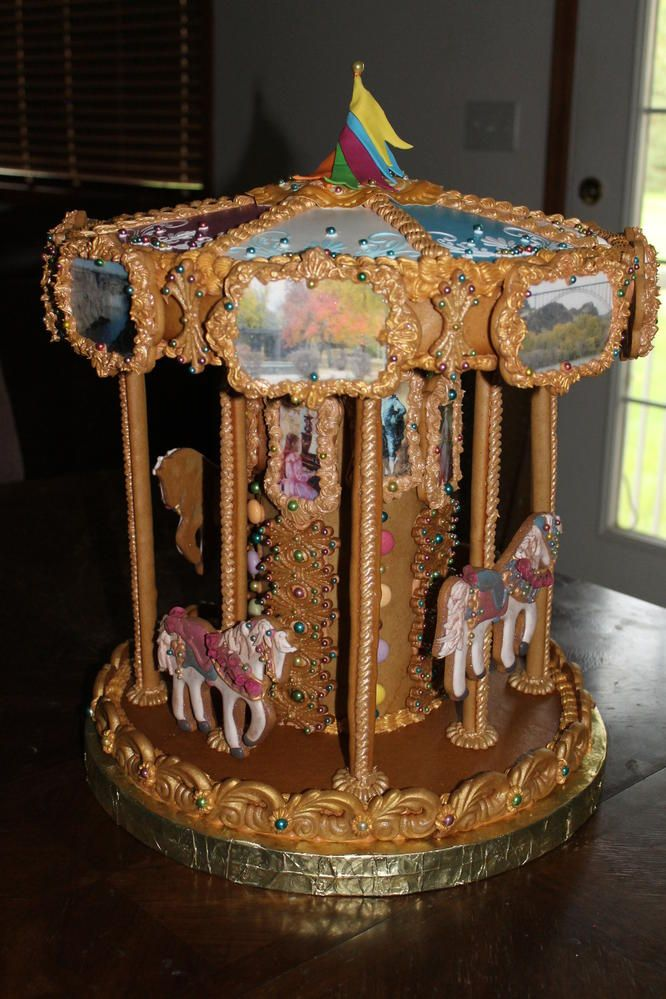 473 Best Images About Carousel Cakes On Pinterest Horse