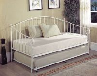 Kings Brand White Metal Twin Size Day Bed (Daybed) Frame ...
