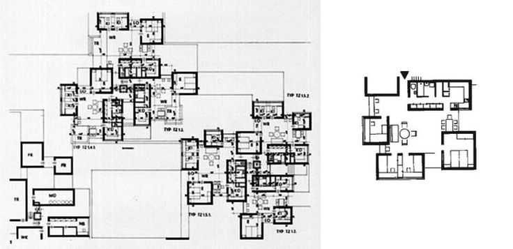"""A City Made of Rooms : The """"Neue Stadt"""" of Köln (1961-1964"""