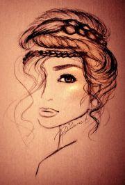 ideas bohemian drawing