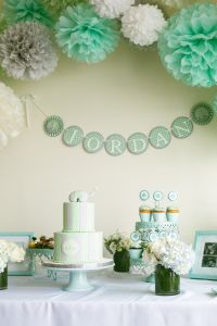 25+ Best Ideas about Mint Baby Shower on Pinterest | Polka ...