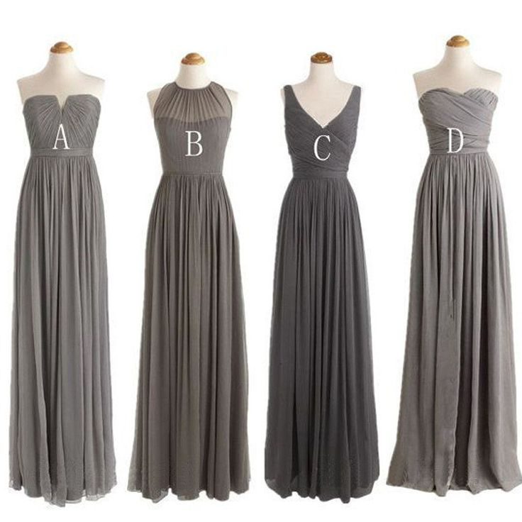 25+ best Grey bridesmaid dresses ideas on Pinterest