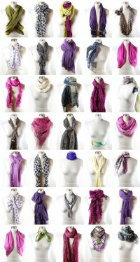 40 Ways to Wear Your Winter Scarf | Ties, Scarfs and Tie a ...