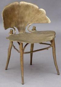 Claude Lalanne Gingko Chair    - Ginkgo biloba ...