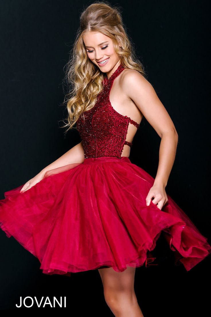1000 ideas about Red Homecoming Dresses on Pinterest