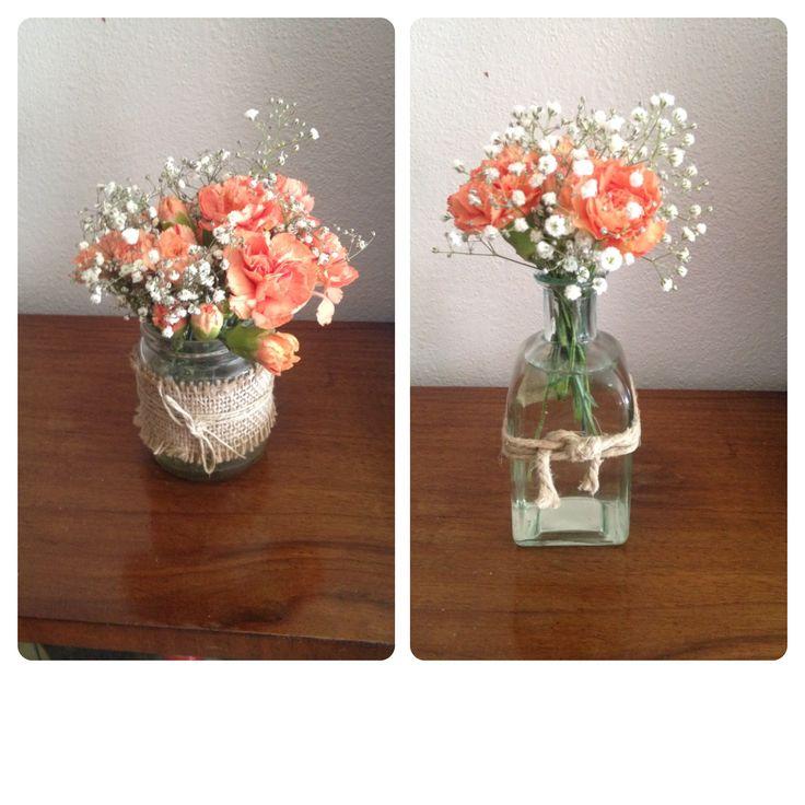 Pequeos arreglos florales para casa o celebracion