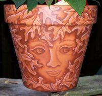 1000+ images about Clay pots on Pinterest | Garden art ...