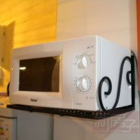 Microwave-iron-wall-mounted-microwave-oven-rack-firmly.jpg ...