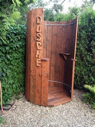 outdoor dusche sichtschutz garten gartendusche sichtschutz - boisholz, Garten und erstellen