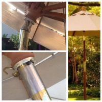 A quick and easy fix for a broken market umbrella tilt ...