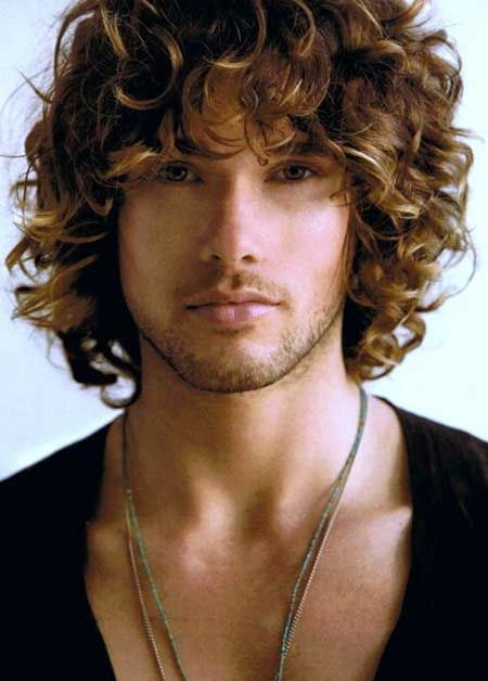 25 Best Ideas About Men's Haircuts Curly On Pinterest Men