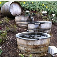 Rustic water feature | Cabin ideas | Pinterest | Water ...