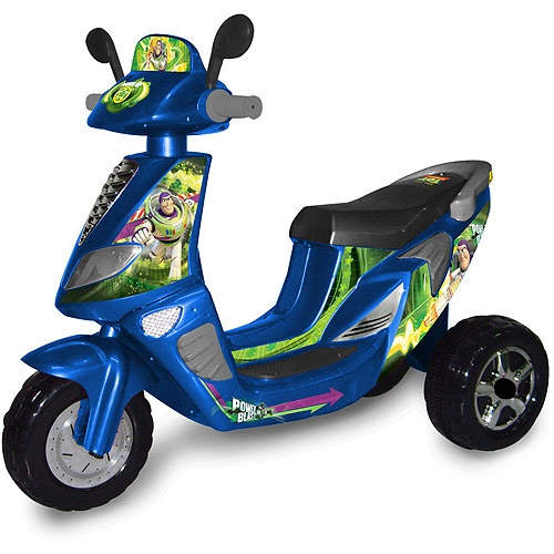 Disney Toy Story 3 Wheel Scooter 6 Volt Battery Powered