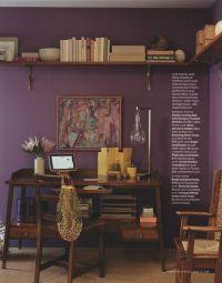 I like purple for a guest room/office. I like the wrap ...