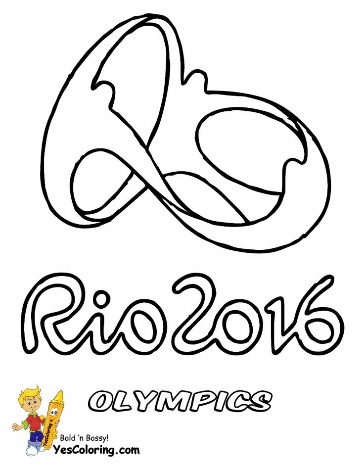 17 Best Images About Free Olympics Coloring Pages On