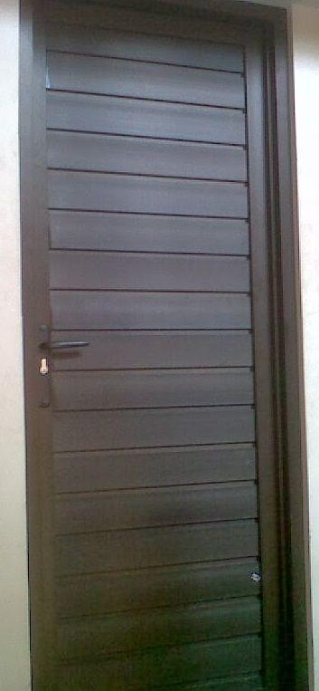 Pintu Aluminium Kamar Mandi Spandrel Pintu Aluminium