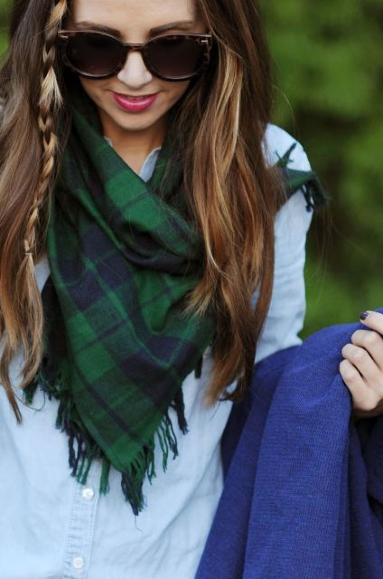 Merrick's Art // Style + Sewing for the Everyday Girl: EASY DIY FRINGE SCARF TUTORIAL: