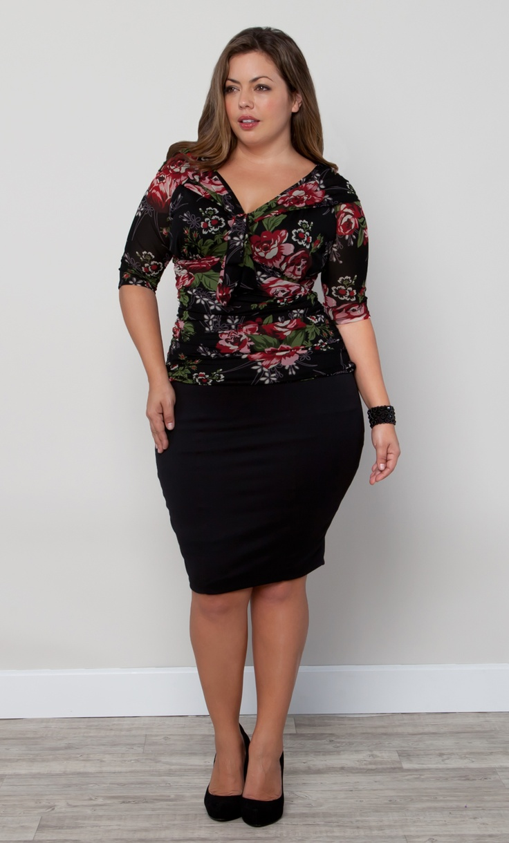 Freshen up your work wardrobe with the Plus Size Melrose
