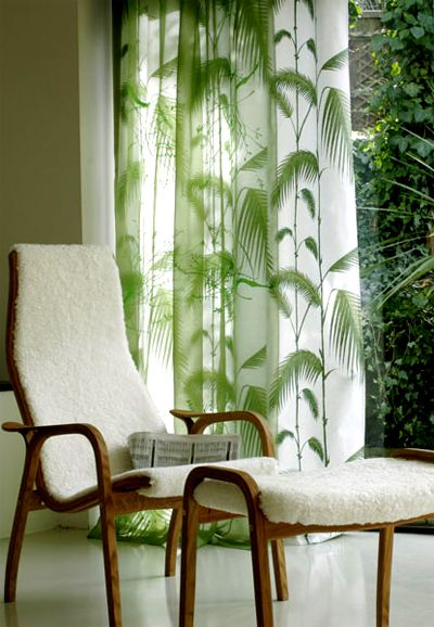 Palm Tree Curtains Pineapples Amp Palm Trees Pinterest