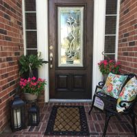 25+ best ideas about Outdoor entryway decor on Pinterest ...