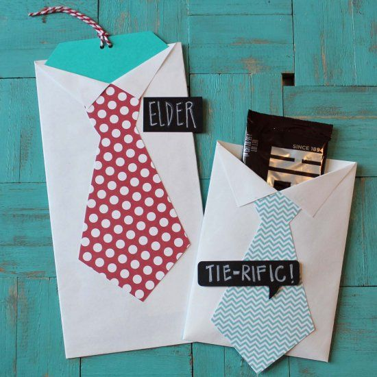 Making Shirt And Tie Favors For Invitations Gift Cards Or