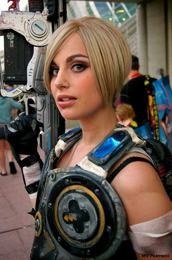 Sexy Anya Stroud cosplay from Gears of War  Cosplay Blondes  Pinterest  Sexy Cosplay and War