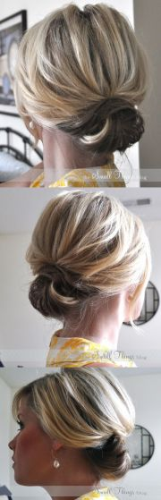 diy hairstyle chic