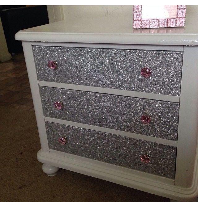 Pinterest Girls Kids Rooms With Wood Wallpaper Best 25 Glitter Dresser Ideas On Pinterest