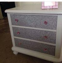 Glitter nightstand   Glitter Furniture   Pinterest ...