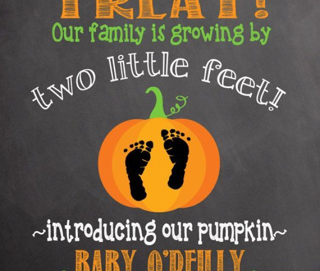 Your Baby Announcements Share Here May  Babies Forums Halloween Pregnancy Announcement