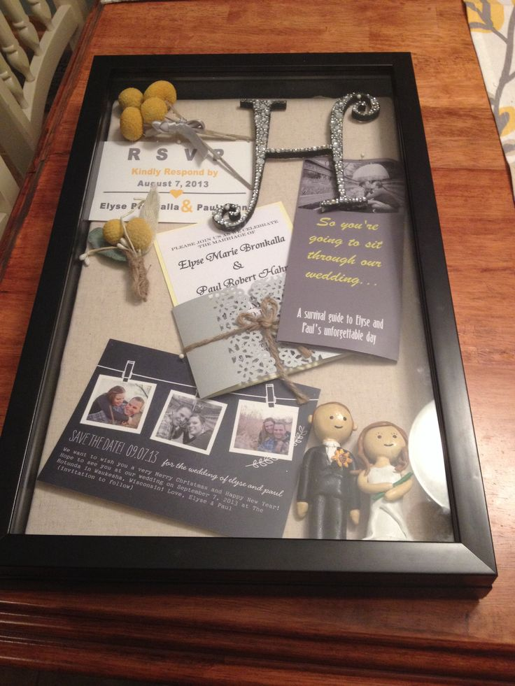 1000 Images About Shadow Box Ideas On Pinterest Wedding