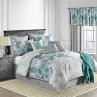 25+ best ideas about Teal Comforter on Pinterest | Grey ...