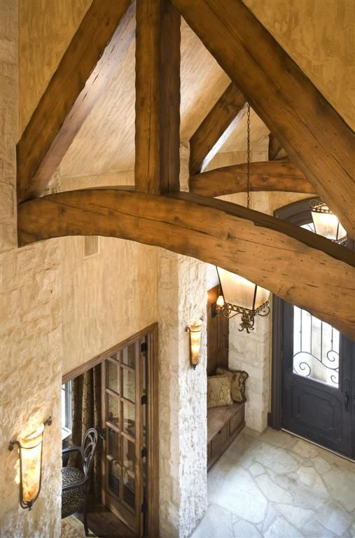 entry/exposed beam