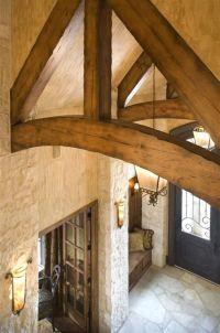 entry/exposed beam | Dream Houses | Pinterest | Entry ways ...