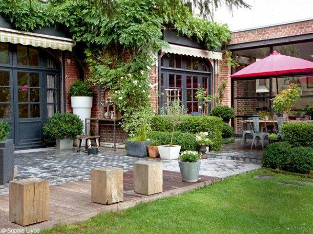 Deco Maison Dans Le Nord Ils Ont De Limagination Ext Pinterest Imagination Gardens And Garden