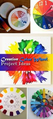 1000 ideas color wheel projects