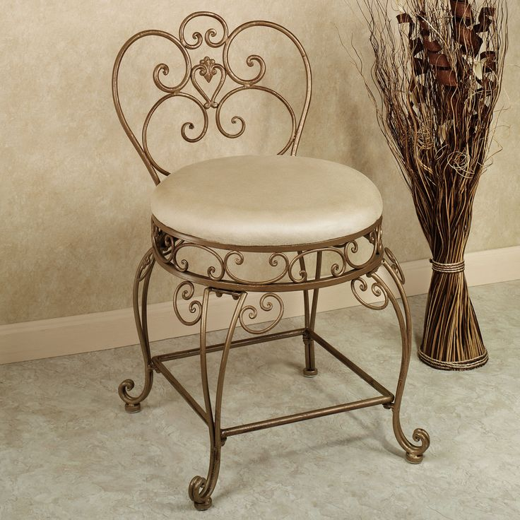 17 Best ideas about Vanity Chairs on Pinterest  Makeup