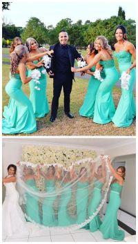 Best 25+ Mermaid Bridesmaid Dresses ideas on Pinterest ...