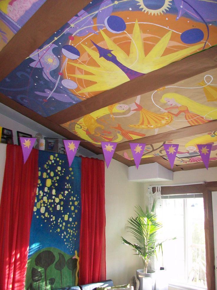 Tangled bedroom