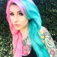 Best 20+ Half Dyed Hair ideas on Pinterest