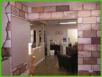 cinder block basement wall ideas | Ugly Basement Ideas ...