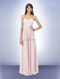 Bill Levkoff | Bridesmaid Dress Style 778 | petal pink ...