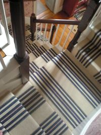 25+ Best Ideas about Striped Carpet For Stairs on