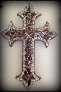 25+ best ideas about Wall crosses on Pinterest | Rustic ...