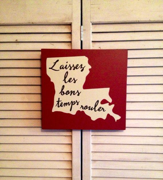 Louisiana Home Decor Cajun Alphabet Print Found In A Thrift Store