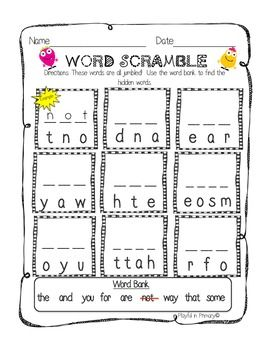 66 best images about Sight Words on Pinterest